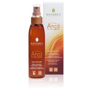 Nature's Arga' Olio Solare Spray SPF6