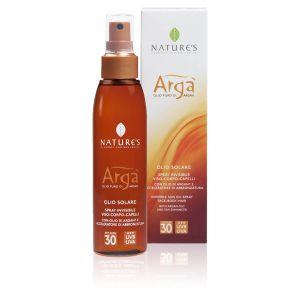 Nature's Arga' Olio Solare Spray SPF30