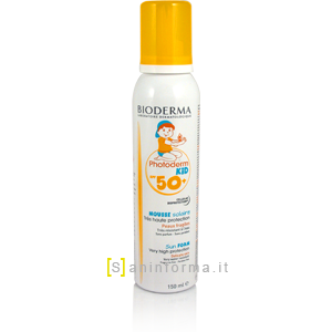 Bioderma Photoderm Kid Mousse SPF50+