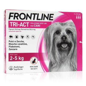 Frontline Tri-Act Spot-On Cani Kg 2-5