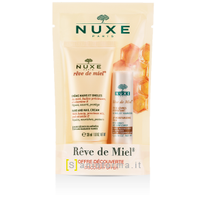 Nuxe Duo Crema Mani e Unghie + Stick Labbra
