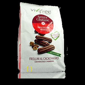 Vivifree Frollini Al Cacao Magro Senza Glutine