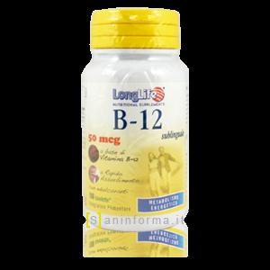 LongLife Integratore Vitamina B-12