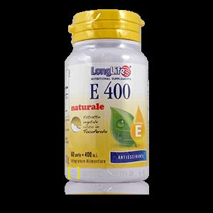 LongLife Integratore E 400 Antiossidante