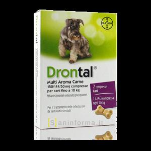 Drontal Multi Aroma Carne 2 Compresse