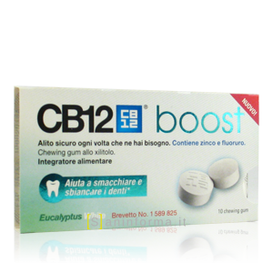 CB12 Boost Eucaliptus White