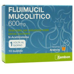 Fluimucil Mucolitico 600 mg Granulto Senza Zucchero