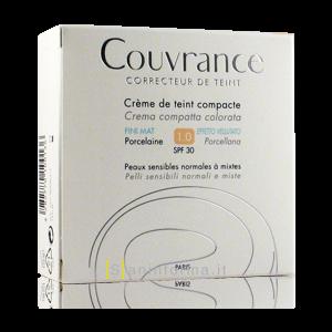 Couvrance Crema Compatta Colorata Oil-Free Fine Mat Porcelaine
