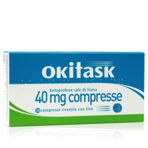 Okitask 40 mg Compresse 10