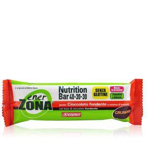 EnerZona Nutrition Bar 40-30-30 Gusto Cioccolato Fondente Crunchy