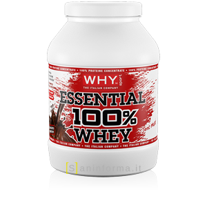 Why Sport Essential 100% Whey Gusto Cioccolato
