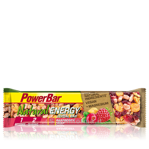 Power Bar Natural Energy Cereal Gusto Lampone Crisp