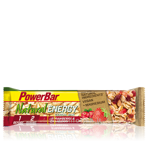 Power Bar Natural Energy Cereal Gusto Fragola-Mirtillo