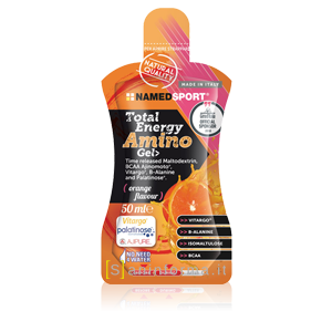 Named Sport Total Energy Amino Gel Gusto Arancia