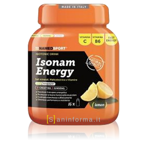 Named Sport Isonam Energy Gusto Limone