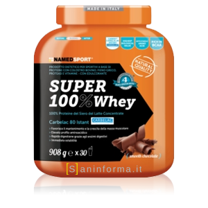 Named Sport Super 100% Whey Gusto Cioccolato