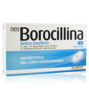 Neo Borocillina Pastiglie Senza Zucchero