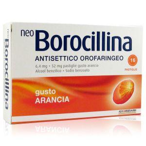Neo Borocillina Antisettico Orofaringeo Gusto Arancia