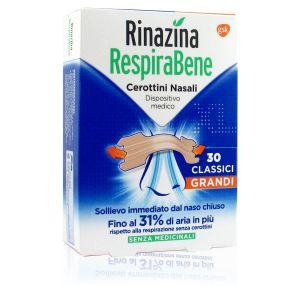 Rinazina Respirabene Cerotti Grandi 30 Pezzi