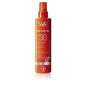 Svr Sun Secure Latte Spray Spf30