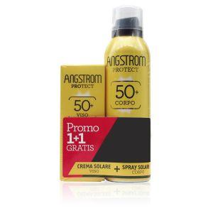 Angstrom Solare Duo Spray Solare SPF50+ Corpo + Omaggio Crema Solare Viso SPF 50+