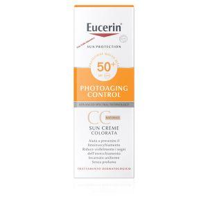 Eucerin Sun Crema Viso Colorata CC Naturale SPF50+