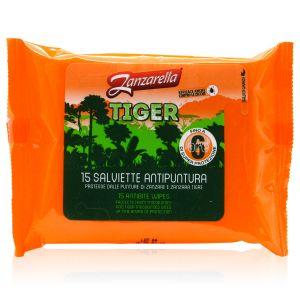 Zanzarella Tiger Salviette Antipuntura