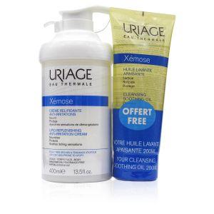 Uriage Xemose Crema Liporestitutiva Anti-Irritazioni + OMAGGIO Xemose Olio Lavante