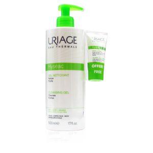 Uriage Hyseac Gel Detergente  + Omaggio Hysec 3-Regul Trattamento Globale