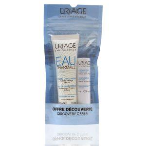 Uriage Duo Crema Mani All' Acqua + Stick Labbra Idratante