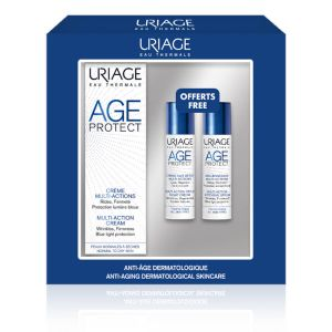 Uriage Coffret Age Protect Crema Multiazione + Siero Intensivo + Crema Notte