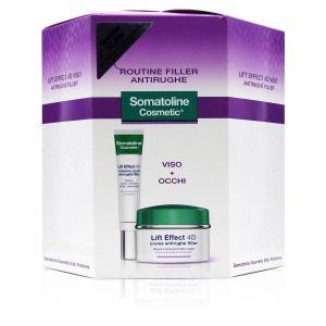 Somatoline Cosmetic Coffret Lift Effect 4D Routine Filler Antirughe Crema