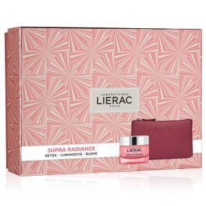 Lierac Coffret Supra Radiance Crema + Rue Des Fleurs Pochette