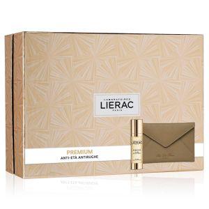 Lierac Coffret Premium La Cure Anti-Eta' Globale + Rue Des Fleurs Pochette
