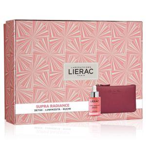Lierac Coffret Supra Radiance Siero + Rue Des Fleurs Pochette