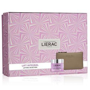 Lierac Coffret Lift Integral Crema Giorno + Rue Des Fleurs Pochette