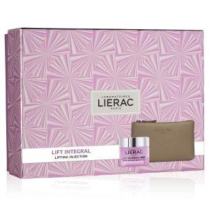 Lierac Coffret Lift Integral Crema Ricca + Rue Des Fleurs Pochette