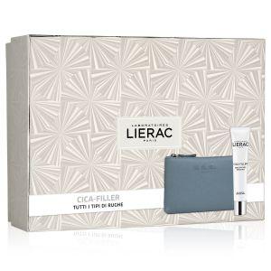 Lierac Coffret Cica-Filler Crema Anti Rughe + Rue Des Fleurs Pochette