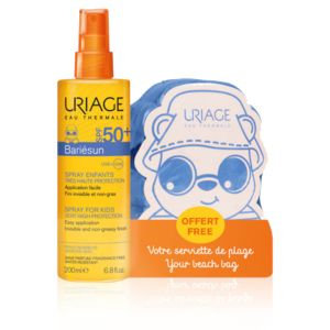 Uriage Bariesun Spray Bambini SPF50+ Corpo + Omaggio Telo Mare