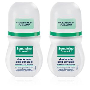 Somatoline Cosmetic Deodorante Pelli Sensibili Duo Roll On