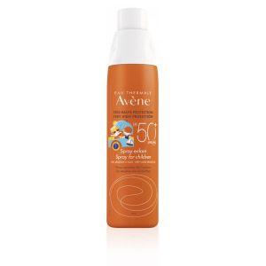 Avene Solare Eau Thermale Spray Bambino Spf 50+