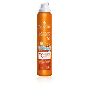 Rilastil Sun System Baby Spray Trasparente Pelle Bagnata SPF 50+