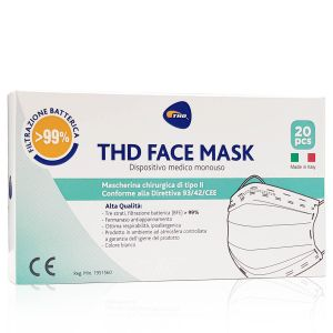 THD Face Mask Mascherine 20 pezzi Made in Italy