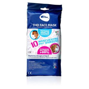 THD Face Mask Mascherine Bambini 10 Pezzi Made in Italy