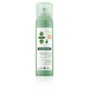 Klorane Shampoo Secco All' Ortica Per Capelli Scuri
