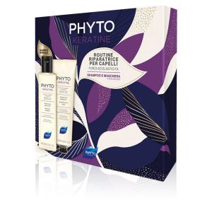 Phyto Cofanetto PhytoKeratine Routine Riparatrice per Capelli