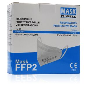 Mascherine Mask It Well FFP2 Senza Valvola 10 Pezzi