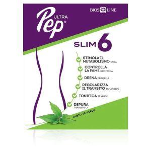 Ultra Pep Slim 6 Stick Gusto Te' Verde