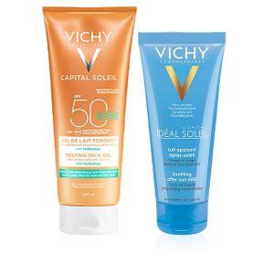 Vichy Capital Soleil Gel-Latte Fondente Wet SPF 50 + Omaggio Latte Doposole