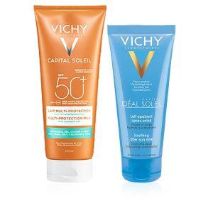 Vichy Capital Soleil Latte Multi-protezione SPF 50+ + Omaggio Latte Doposole